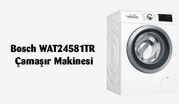 Bosch WAT24581TR Çamaşır Makinesi