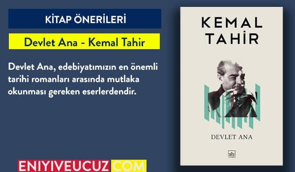 Devlet Ana - Kemal Tahir - En İyi Türk Romanları