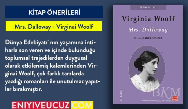 Mrs. Dalloway - Virginai Woolf - Roman Önerileri
